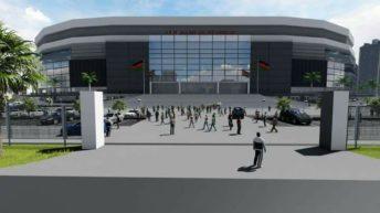 Stadium project suffers budget cut