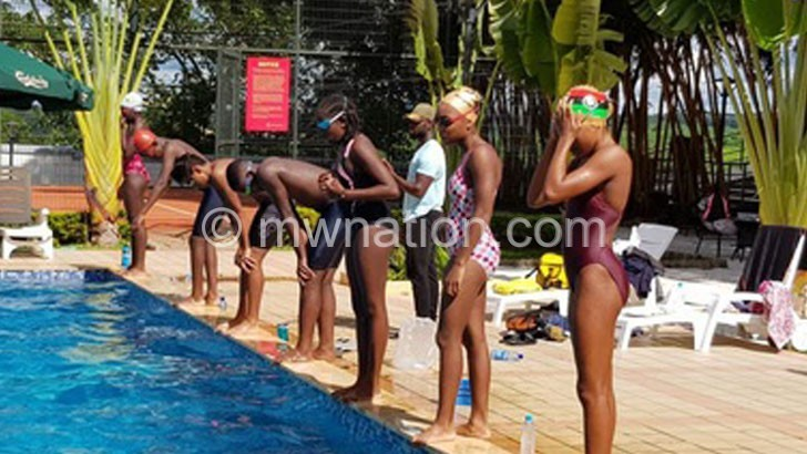 Swimming team off to Namibia for Zone IV