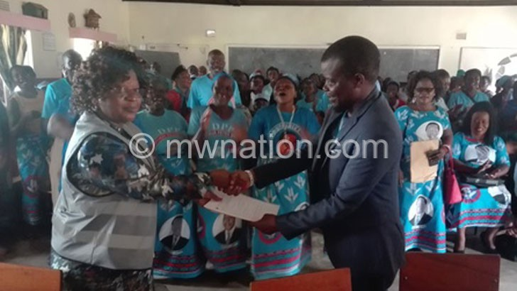 DPP meets 50:50  ratio in Lilongwe City South East