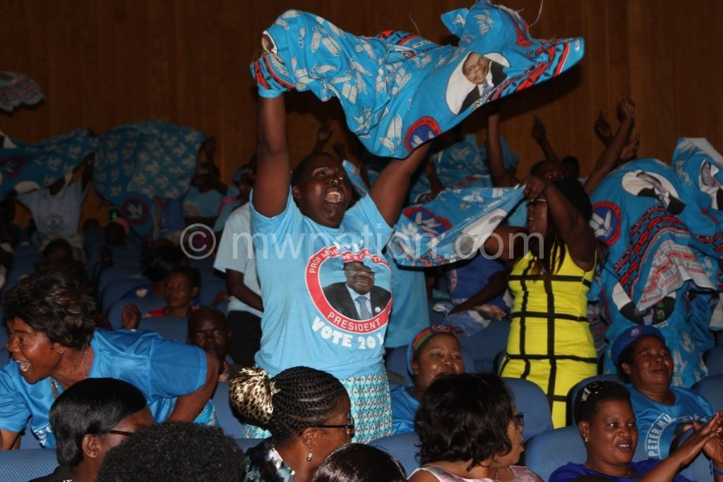 DPP suppoters dance | The Nation Online