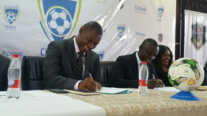 Ecobank to sponsor Charity Shield