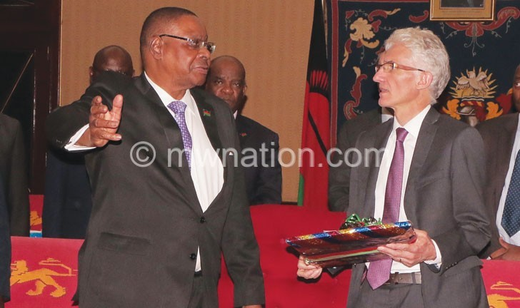 Mutharika chatts with Lowcock | The Nation Online