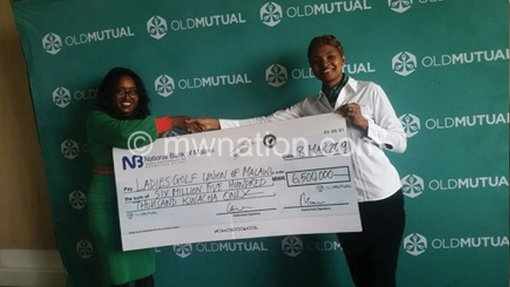 Old Mutual pumps K6.5m into ladies golf