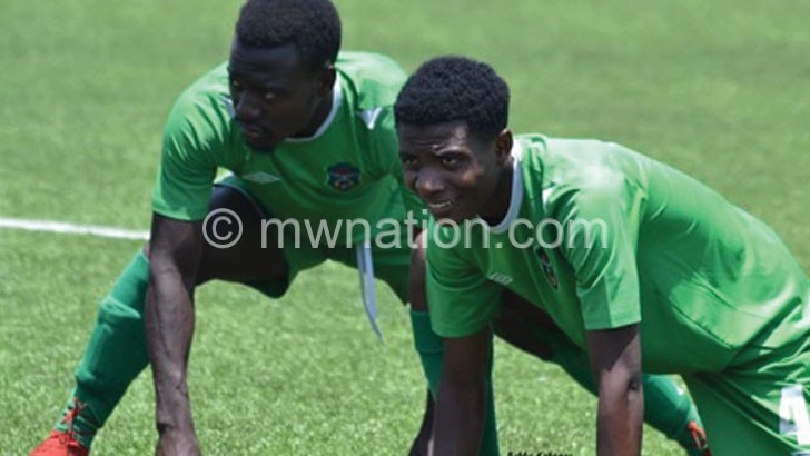 PETER BANDA IN TRAINING | The Nation Online