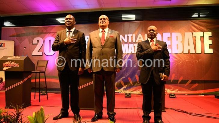 Presidential runningmates | The Nation Online