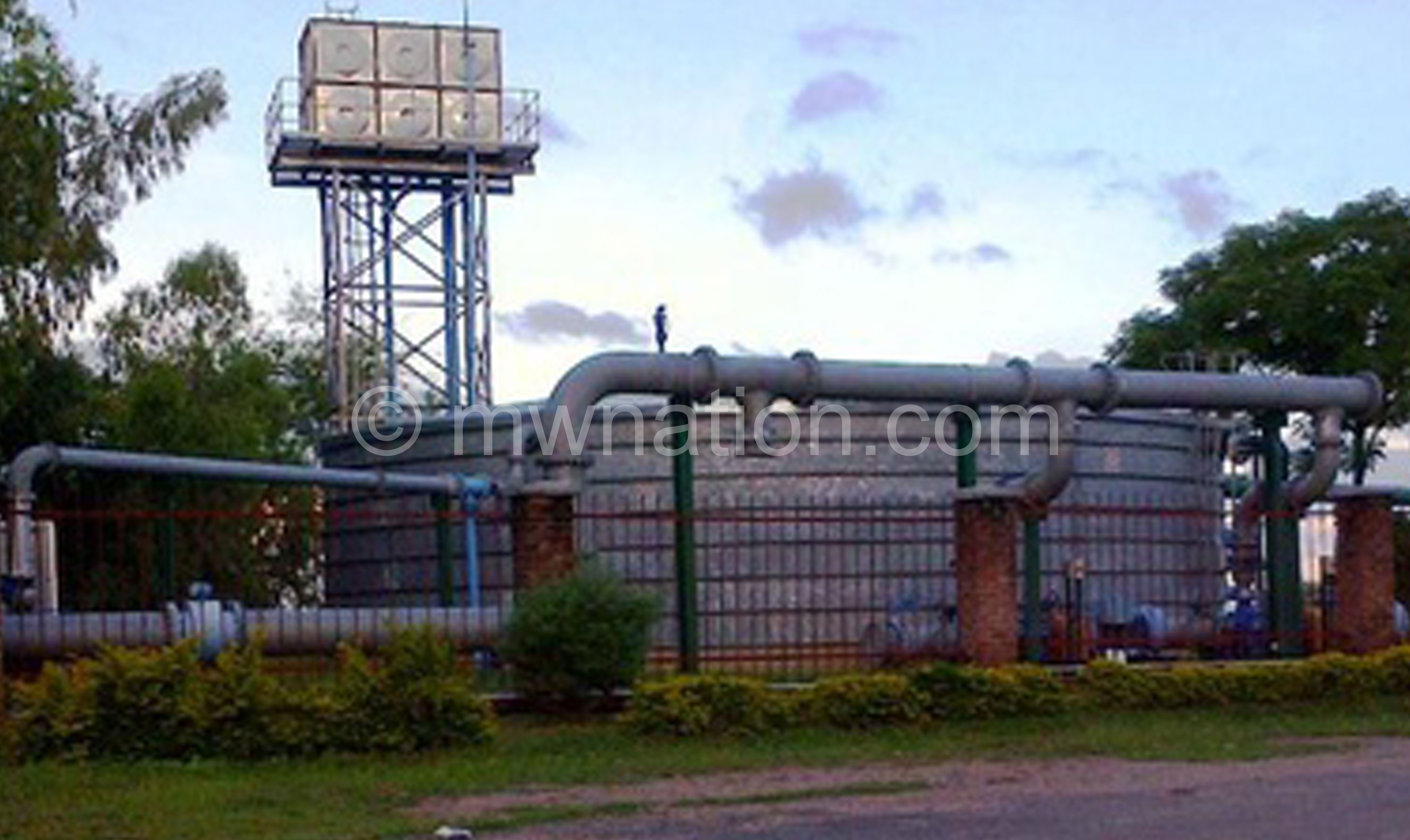THE CURRENT WATER PLANT IN KARONGA | The Nation Online
