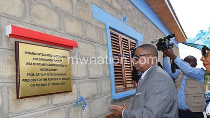 AfDB urges care of Mzimba water project