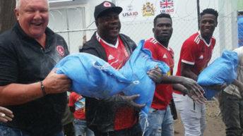 BB donate K35m items towards flood victims