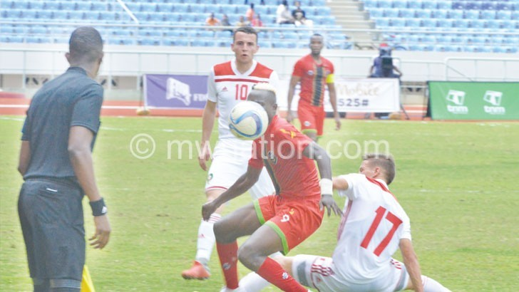 Flames wrap up Afcon campaign with a draw