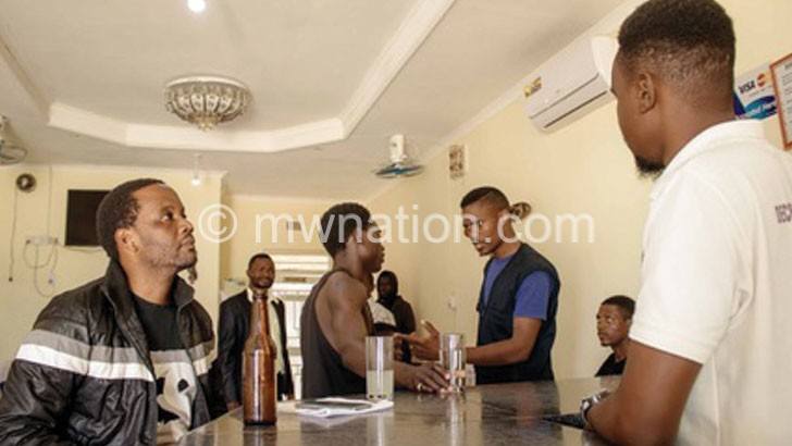 Mzuzu youths shoot The Pursuit of Justice