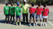 Malawi tennis team in Africa Junior Championship semis