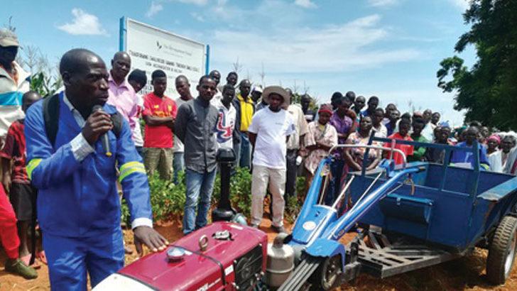 Mzimba farmers receive tractors