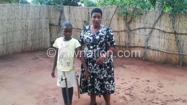 Girl, 9, lives with bullet in her thigh