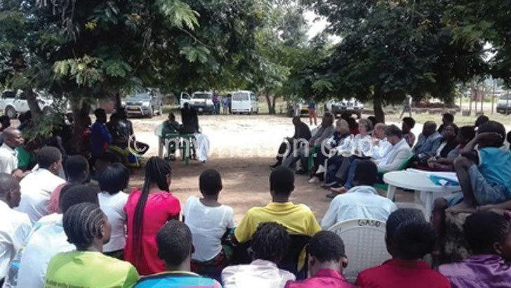Youths demand contraceptives