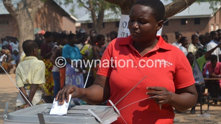 Elections voting | The Nation Online
