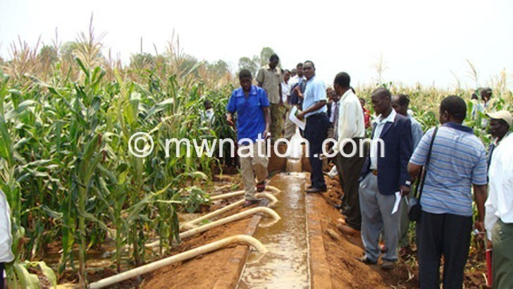 IRRIGATION FARMINGIN | The Nation Online