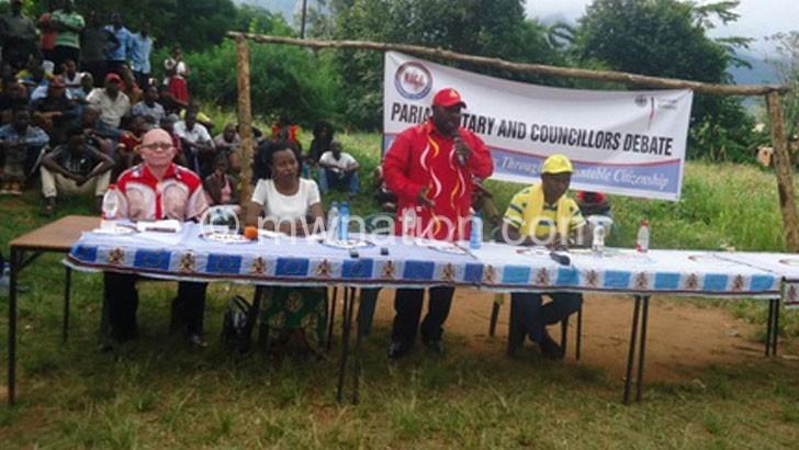 Zomba Central aspirants debate on economy