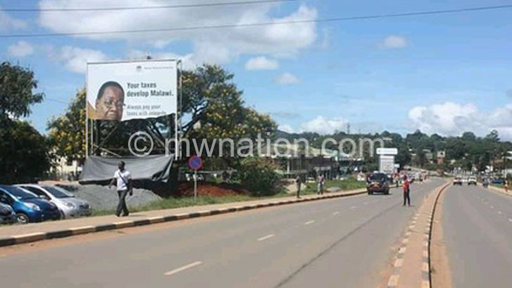 THE TORN BILLBOARD | The Nation Online