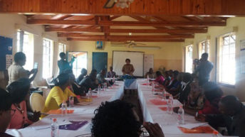 Police officers trained in curbing violence ahead of polls