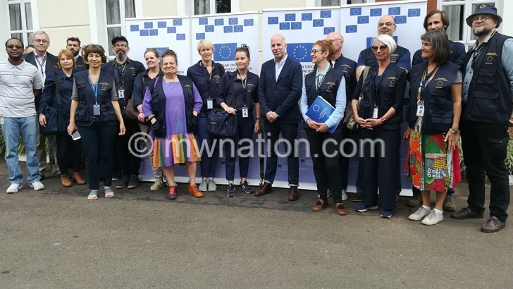 EU observer mission team  optimistic of credible polls