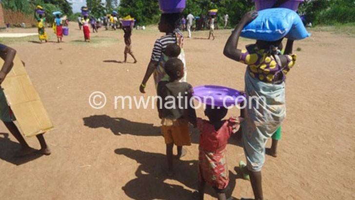 Zomba resettles 100 flood victims