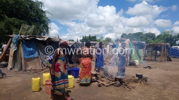 floods camp | The Nation Online