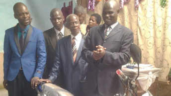 UPC head pastor receives motorcycle