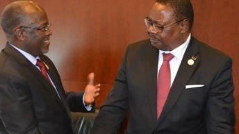 Mutharika, Magufuli hold talks today