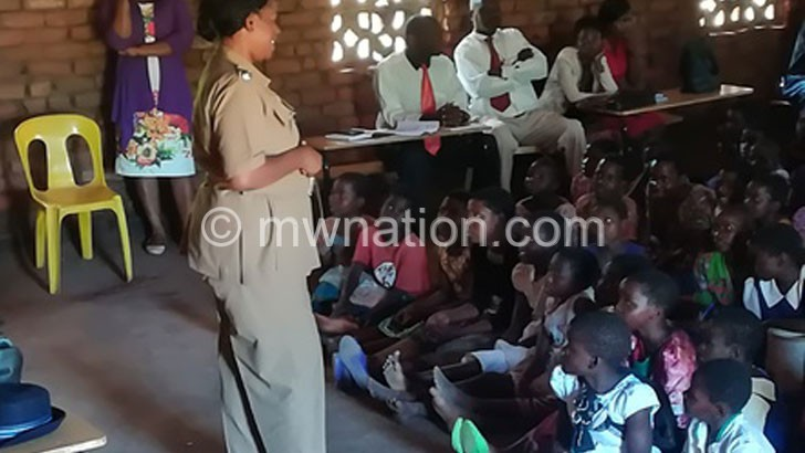 Wolrec motivates girls in Phalombe