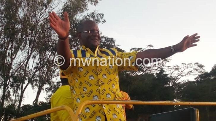 Muluzi's ambitious pledge for Karonga