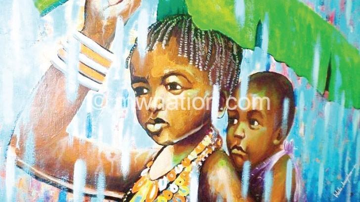 Mandele's paintbrush hurdles