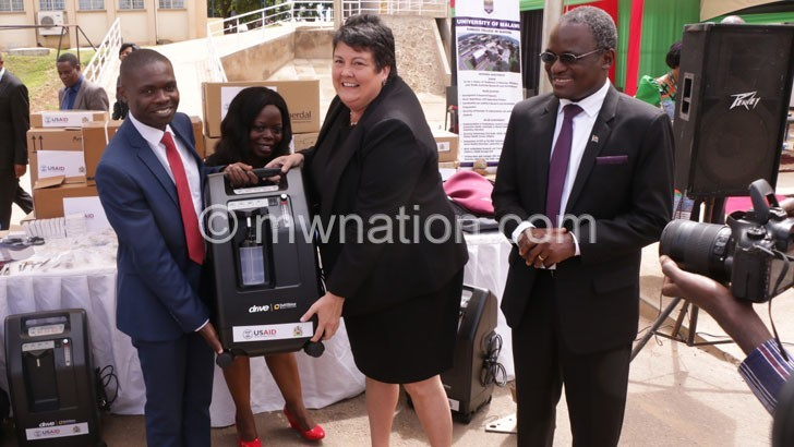 US hands over K1.3bn medical supplies, books