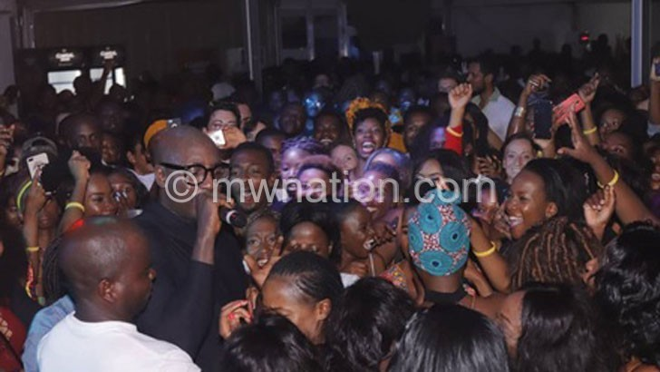 Sauti Sol gives colour to Castel Beer launch