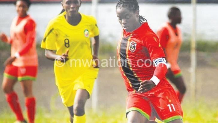 Malawi women's team to camp overseas