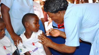 Malaria vaccine on trial