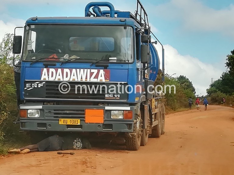 A vacuum truck | The Nation Online