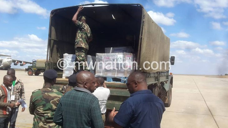 Ballot papers dispatched