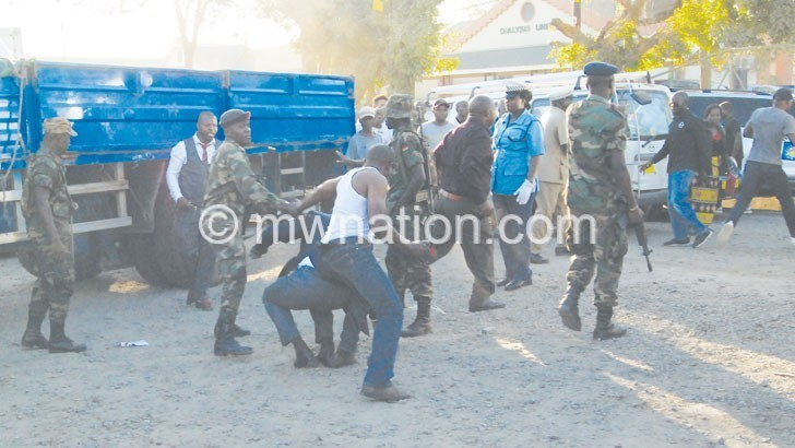 Elections violence | The Nation Online