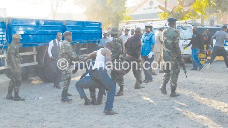 MHRC condemns violence