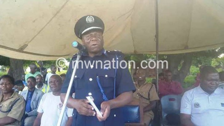 Police warns Karonga residents against violence
