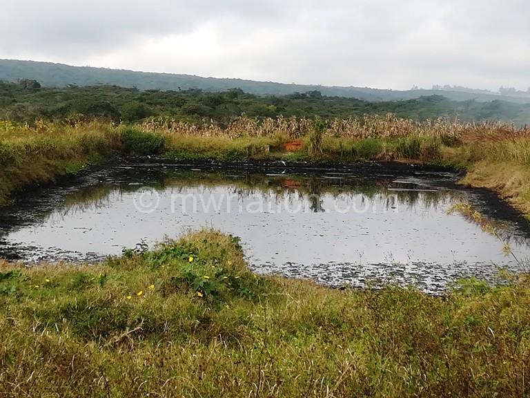 The sludge pond in Mzuzu | The Nation Online