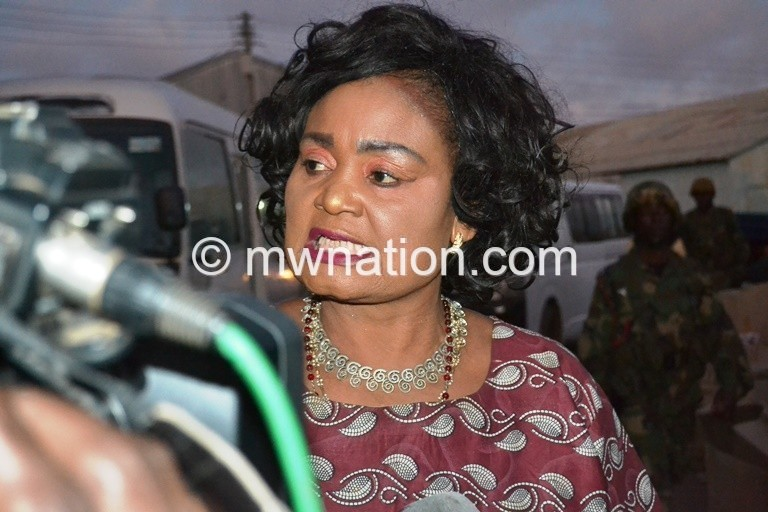 We may request a recount Kaliati. Photo by Fatsani Gunya | The Nation Online