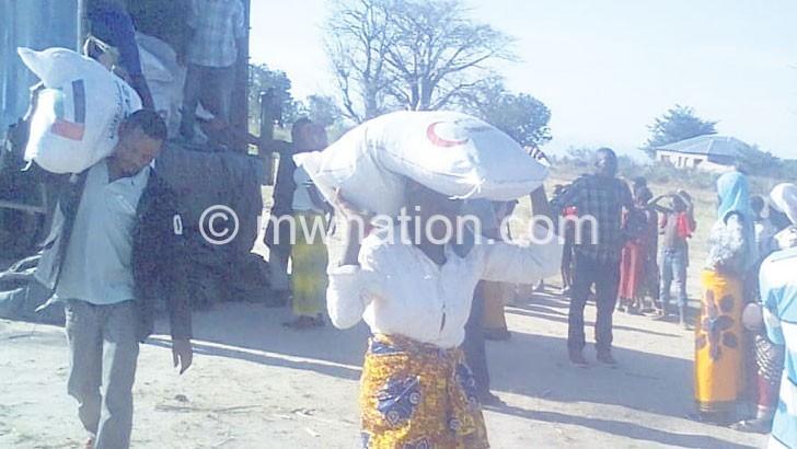 Trust urges Mangochi  flood victims to go home