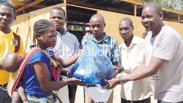 NGO donates K11m items to flood victims