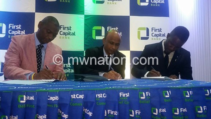 First Capital U-20 League  package up to K35m