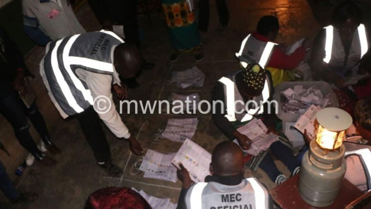 vot counting | The Nation Online