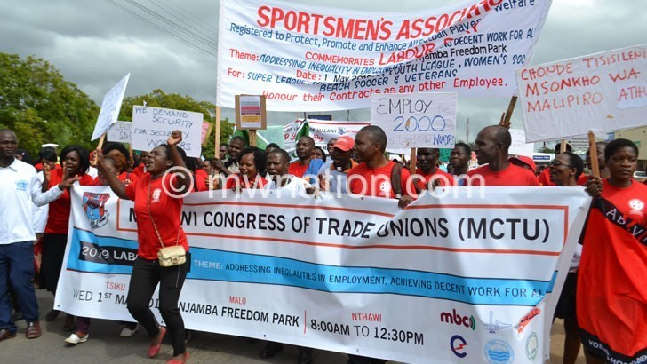 MCTU presses for sectoral  minimum wage