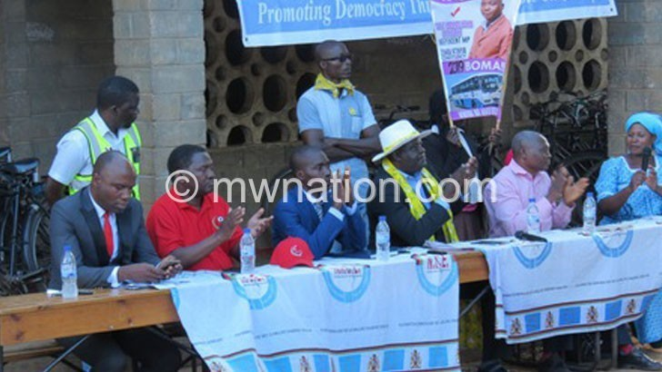 zomba campaing | The Nation Online