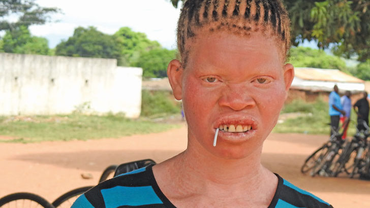 Eustina Ndaona: Risks her life to fend for her family