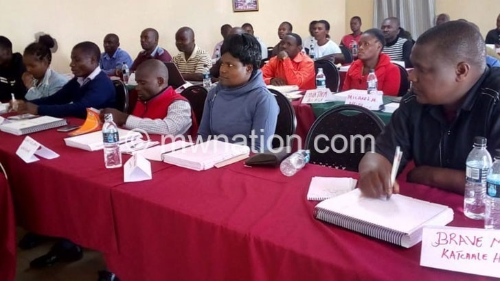 Health workers drilled in data management